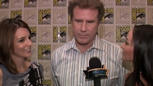 [Comic-Con 2010: Tina Fey & Will Ferrell's 'Wild' Day]
