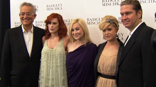 Spring 2011 NY Fashion Week: Young Hollywood Loves Badgley Misch Video