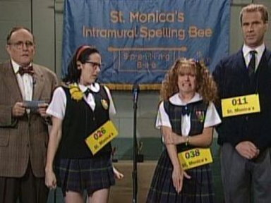 [St. Monica&#39;s Spelling Bee] Video