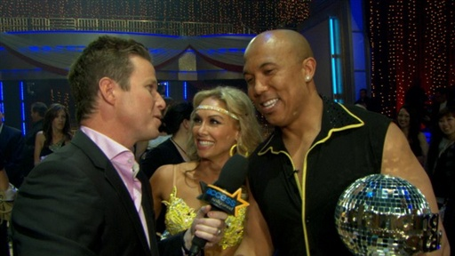 Hines Ward Crowned 'Dancing' Champion Video