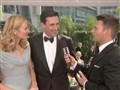 E! Entertainment: 2009 Emmys: Jon Hamm