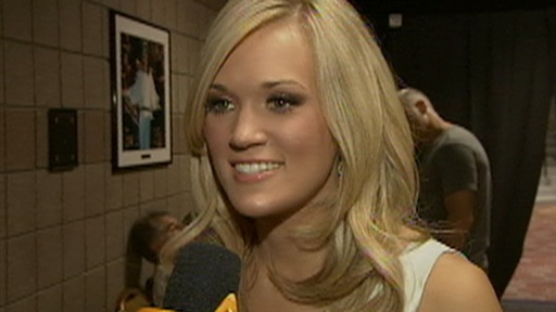 2010 Academy of Country Music Awards: Carrie Underwood - I'm 'Be Video