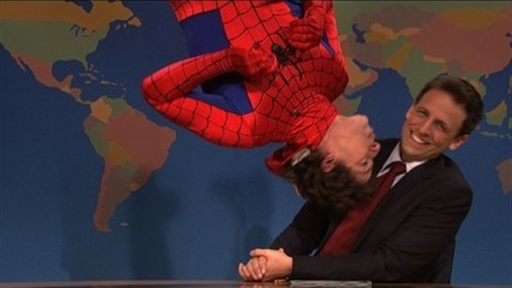 [Weekend Update: Spiderman On Broadway]