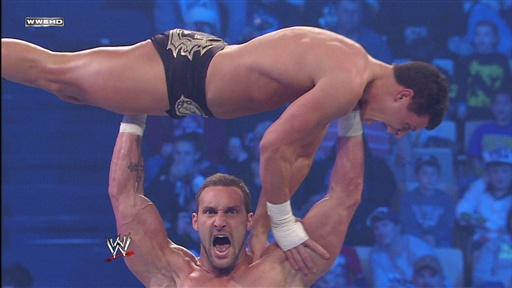 "[The ""Masterpiece"" Chris Masters Vs. ""Dashing"" Cody Rhodes]"