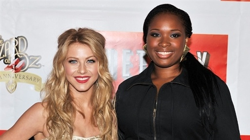 [Julianne Hough and Jennifer Hudson Perform at Netflix 'Wizard of]