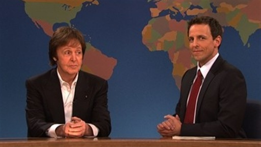 Weekend Update: Paul McCartney Video
