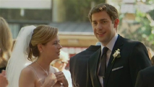 [Behind the Scenes: Jim and Pam's 'Office' Wedding]