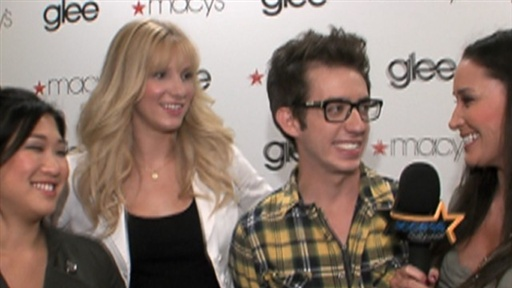 Jenna Ushkowitz, Heather Morris and Kevin McHale: We 'Love Britn Video