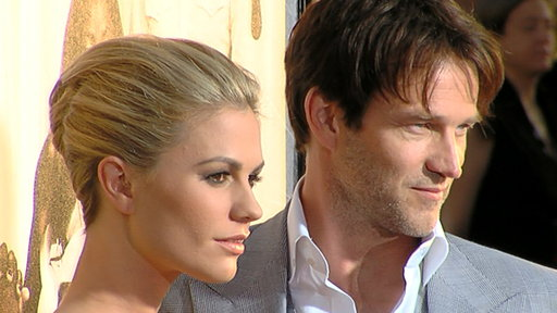 [Anna Paquin & Stephen Moyer's 'True Blood' Season 4 Premiere]