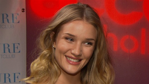 [Rosie Huntington-Whiteley Talks 'Transformers 3']