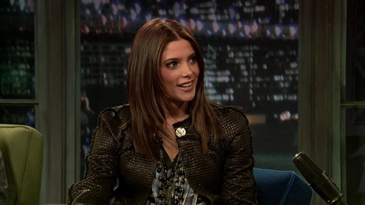 Ashley Greene: Family Christmas and Painted On Swimsuits Video