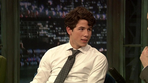 Nick Jonas Interview Video