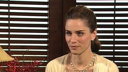[Amanda Peet On '2012': 'I Feel So Lucky That I Keep Getting to W]
