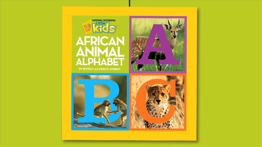 African Animal Alphabet Video