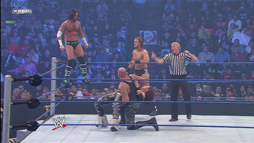 [John Morrison, R-Truth and Matt Hardy Vs. Intercontinental Champ]