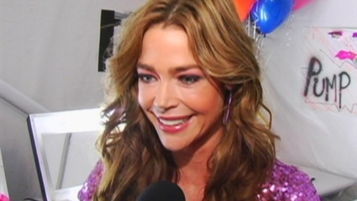 New York Fashion Week: Denise Richards Gets Glam With Betsey Joh Video