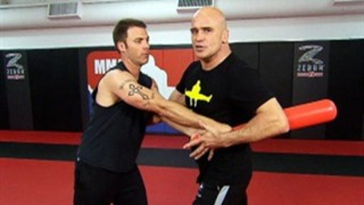 Bas Rutten's Defense Lessons With Weston Scott Video