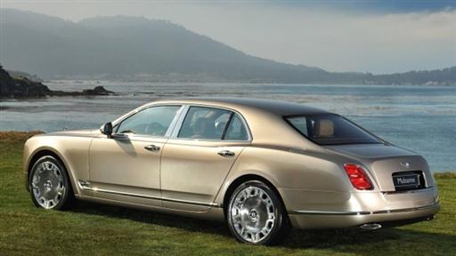 Bentley 2011 Mulsanne. 2011 Bentley Mulsanne @ 2010