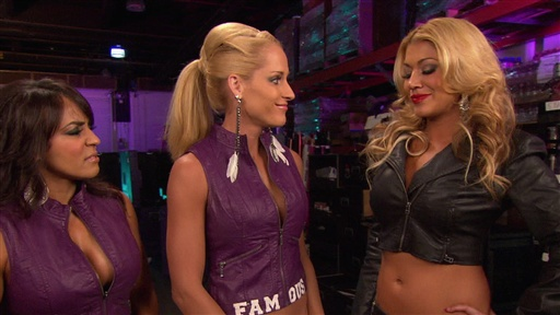 Team LayCool Runs Into Rosa Mendes Video