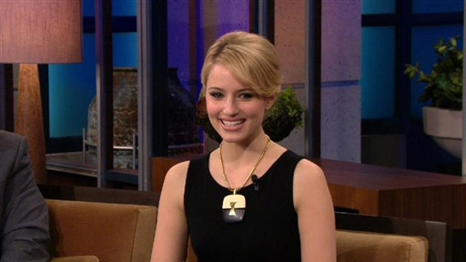 Tonight Show With Jay Leno · Dianna Agron, Part 2