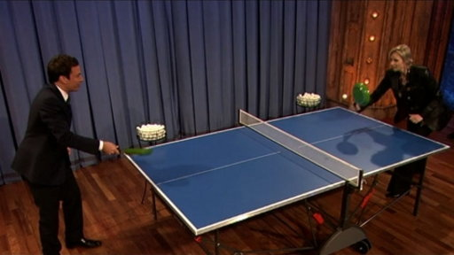 [Pan Pong With Jane Lynch]