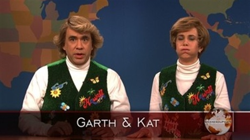 Weekend Update: Garth and Kat Video