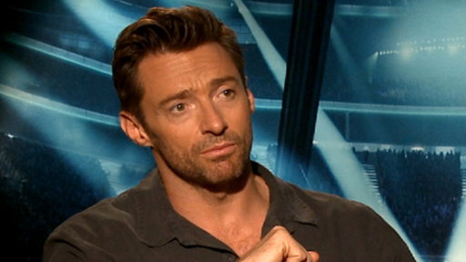 [Hugh Jackman Talks Eddie Murphy Hosting the 2012 Oscars]