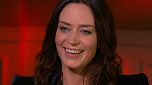 Emily Blunt On Filming 'Wolfman' & Being 'Gang Busters' With Ant Video
