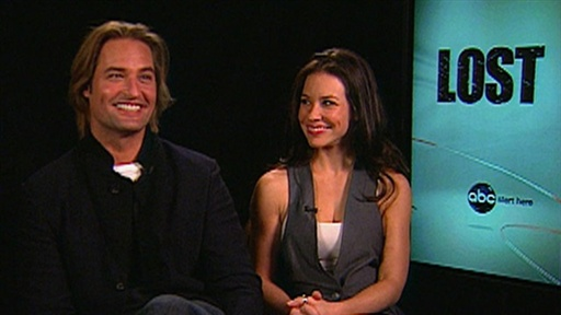 Josh Holloway and Evangeline Lilly On Final Season of 'Lost': We Video