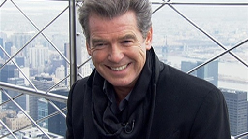 Pierce Brosnan: Robert Pattinson Is in a 'Vortex of Fame' Video