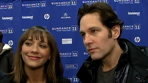 2011 Sundance Film Festival: Paul Rudd & Rashida Jones Talk 'My Video