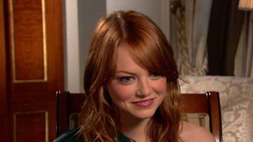 Emma Stone: 'I'm So Excited' for 'Spider-Man' Video