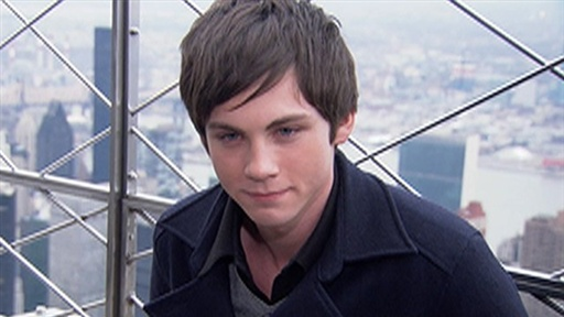 [Logan Lerman: 'I Was Absorbed in 'Percy Jackson']