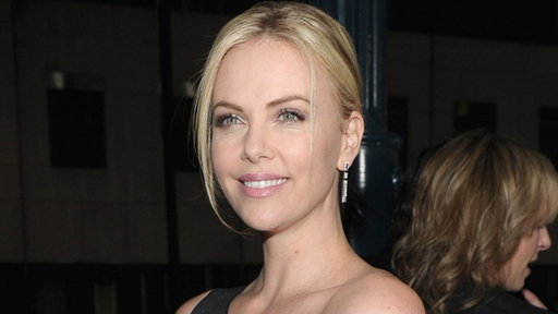 Charlize Theron Reacts to Her 'Young Adult' 2012 Golden Globe No Video